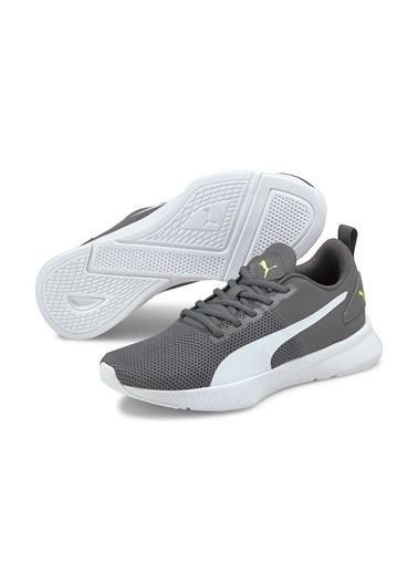 Puma Unisex Gri Flyer Runner Sneakers 19225750085 Gri